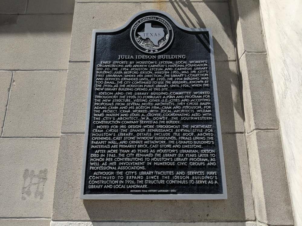 Texas Historical Mark