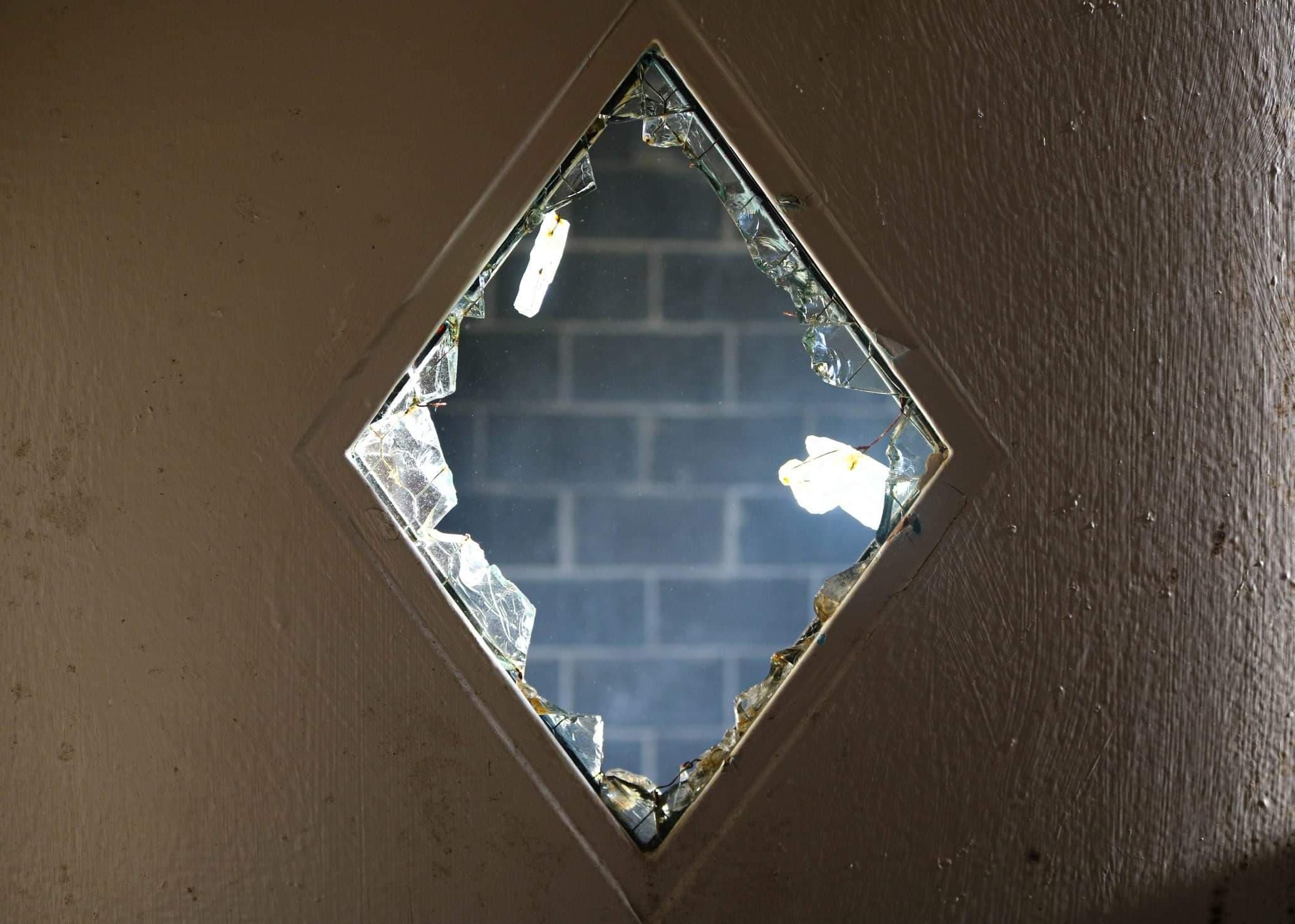 Observation Window Shattered